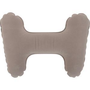 エアークッション腰用グレー 送料無料 運転 腰痛予防 オフィスワーク 旅行・トラベル 介護 ゆうパケット対応2