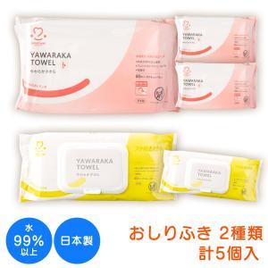 おしりふきお試しセット 水99%以上  日本製 保湿 ノンア...