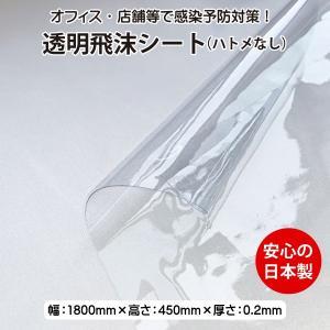 コロナ対策 飛沫防止 ビニールシート 塩化ビニール ハトメなし 日本製 1800サイズ AMEX-CS1800|amexalpha
