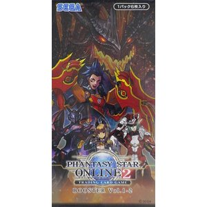 PHANTASY STAR ONLINE 2 TRADING CARD GAME BOOSTER Vol.1-2 20パック入りBOX[セガ]《08月予約》