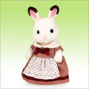 シルバニアファミリー 人形 ショコラウサギ お母さん[エポック]《発売済・在庫品》|amiami