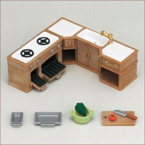 シルバニアファミリー 家具 キッチンセット[エポック]《発売済・在庫品》|amiami