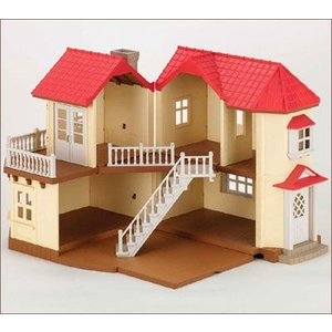 シルバニアファミリー ハウス あかりの灯る大きなお家[エポック]《発売済・在庫品》|amiami
