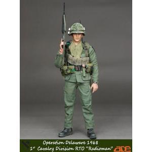 """1/6 第1騎兵師団 RTO """"Radioman"""" オペレーション デラウェア1968[ACE Toys]【送料無料】《取り寄せ※暫定》 amiami"""