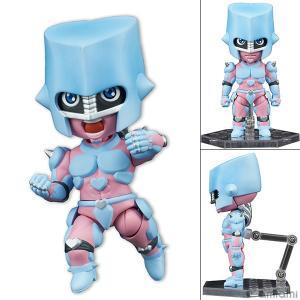 みにっしも TVアニメ「ジョジョの奇妙な冒険 ダイヤモンドは砕けない」 『クレイジー・ダイヤモンド』 可動フィギュア[ディ・モールト ベネ]《発売済・在庫品》|amiami