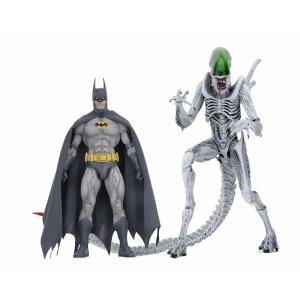 バーサスシリーズ/ バットマン/エイリアン: バットマン vs エイリアン 7インチ アクションフィギュア 2PK[ネカ]《06月予約》|amiami
