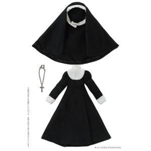 ピコニーモ用 1/12 シスター服セット ブラック (ドール用)[アゾン]《09月予約》|amiami