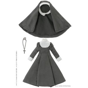 ピコニーモ用 1/12 シスター服セット グレー (ドール用)[アゾン]《09月予約》|amiami