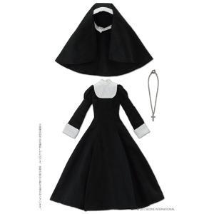 ピュアニーモ用 PNMシスター服セットII ブラック (ドール用)[アゾン]《09月予約》|amiami