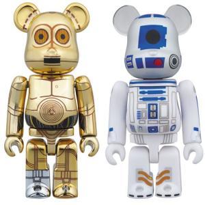 ベアブリック スター・ウォーズ C-3PO & R2-D2 2PACK[メディコム・トイ]《発売済・在庫品》|amiami