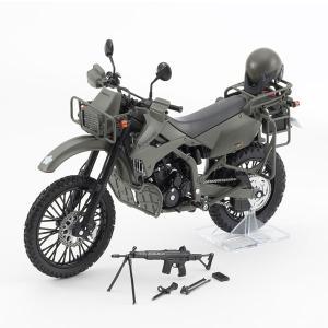 リトルアーモリー〈LM002〉陸上自衛隊偵察オートバイ DX版(再販)[トミーテック]《10月予約》|amiami