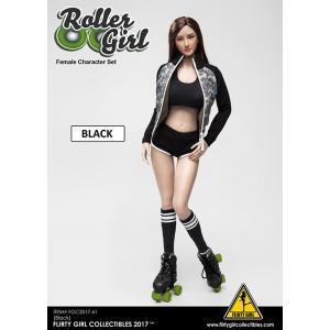 フラティガール・コレクティブル 1/6 女性用 キャラクターセット ローラーガール ブラック[FLIRTY GIRL]《06月仮予約》|amiami