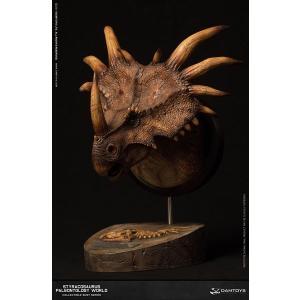ミュージアムシリーズ スティラコサウルス バストB ブラウン[DAMTOYS]《在庫切れ》|amiami