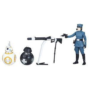 スター・ウォーズ ベーシックフィギュア 3パック BB-8/BB-9E/ローズ (ファースト・オーダーver.)の商品画像 ナビ