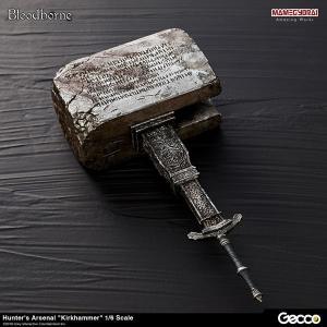 Bloodborne/ ハンターズ・アーセナル: 教会の石鎚 1/6スケール ウェポン[Gecco]《12月予約》|amiami