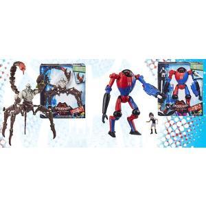 スパイダーマン:スパイダーバース ハズブロ アクションフィギュア 6インチ「デラックス」ウェーブ1 ...