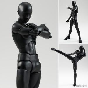 S.H.Figuarts ボディくん(Solid black Color Ver.)(再販)[BANDAI SPIRITS]《発売済・在庫品》 amiami