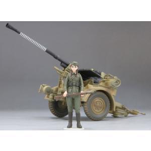 1/35 歴装ヲトメ Hannah(ハンナ) w/3.7cm対空機関砲37型 プラモデル[ファインモールド]《在庫切れ》|amiami