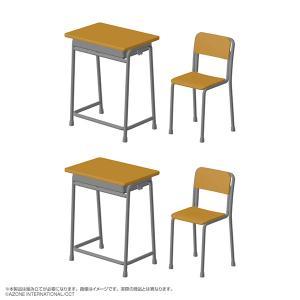 あぞプラシリーズ 1/6 学校の机と椅子 プラモデル[アゾン]《09月予約》の画像