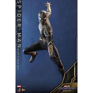 ムービーマスターピース 1/6 スパイダーマン ブラック&ゴールドスーツ ※延期前倒可能性大[ホット...