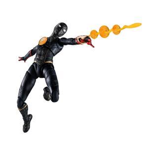 【特典】S.H.Figuarts スパイダーマン[ブラック&ゴールドスーツ](スパイダーマン:ノー・ウェイ・ホーム)[BANDAI SPIRITS]《01月予約》の画像