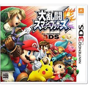 3DS 大乱闘スマッシュブラザーズ for ニンテンドー3DS[任天堂]【送料無料】《取り寄せ※暫定》 amiami