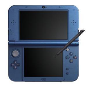 Newニンテンドー3DS LL 本体 メタリックブルー[任天堂]【送料無料】《発売済・在庫品》