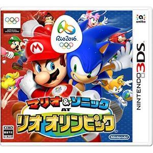 3DS マリオ&ソニック AT リオオリンピック[任天堂]【送料無料】《取り寄せ※暫定》|amiami