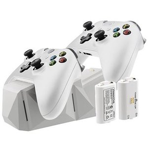 Xbox One用 Charge Block Duo Whi...