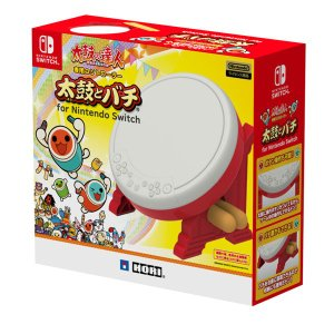 太鼓の達人専用コントローラー 太鼓とバチ for Nintendo Switch[ホリ]【送料無料】《発売済・在庫品》|amiami