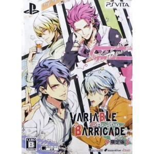 PS Vita VARIABLE BARRICADE 限定版[アイディアファクトリー]《10月予約》|amiami