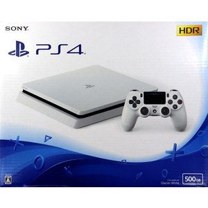 PlayStation4 グレイシャー・ホワイト 500GB[SIE]【送料無料】《発売済・在庫品》