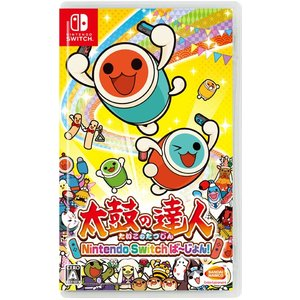 Nintendo Switch 太鼓の達人 Nintendo Switchば〜じょん!(再販)[バンダイナムコ]【送料無料】《発売済・在庫品》|amiami