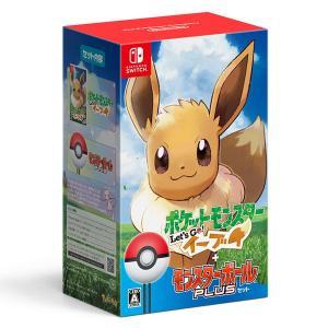 【特典】Nintendo Switch ポケットモンスター Let's Go! イーブイ モンスター...
