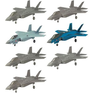 ハイスペックシリーズ vol.5 1/144 F-35A ライトニングII 10個入りBOX(再販)[エフトイズ]《取り寄せ※暫定》|amiami