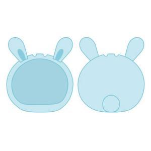 おまんじゅうにぎにぎマスコット きぐるみケース うさぎ ブルー ふつうサイズ用(再販)[エンスカイ]《発売済・在庫品》|amiami