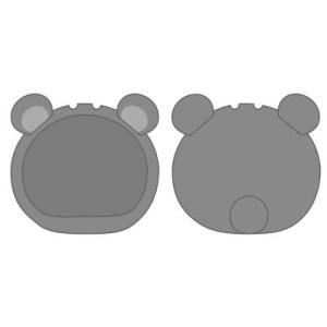 おまんじゅうにぎにぎマスコット きぐるみケース くま グレー ふつうサイズ用[エンスカイ]《発売済・在庫品》|amiami