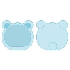 おまんじゅうにぎにぎマスコット きぐるみケース くま ブルー ふつうサイズ用(再販)[エンスカイ]《発売済・在庫品》|amiami