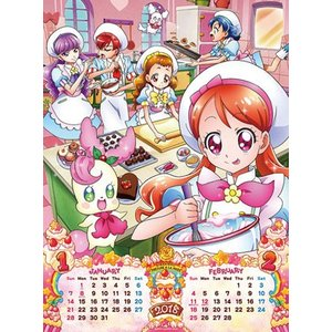 キラキラ☆プリキュアアラモード 2018年カレンダー[エンスカイ]《発売済・在庫品》|amiami|02