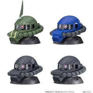 機動戦士ガンダムEXCEED MODEL ZAKU HEAD 4 9個入りBOX[バンダイ]《05月予約》