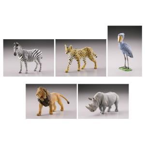 カプセルQミュージアム WILD RUSH 真・世界動物誌I〜アフリカサバンナ編〜 12個入りBOX[海洋堂]《取り寄せ※暫定》