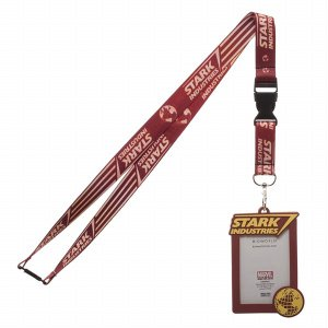 STARK INDUSTRIES LANYARD WITH RUBBER ID HOLDER[Bioworld]【送料無料】《発売済・在庫品》|amiami