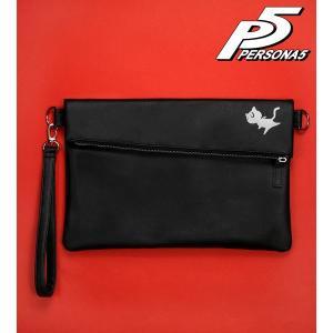 ペルソナ5 クラッチバッグ(モルガナ)[アルマビアンカ]《発売済・在庫品》|amiami