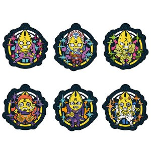 ラバーマスコット ジョジョの奇妙な冒険 黄金の風 スタンドたちの奇妙なコスチューム!編 6個入りBOX[メガハウス]《発売済・在庫品》|amiami