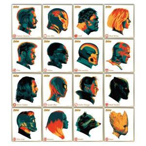 アベンジャーズ/インフィニティ・ウォー ビジュアル色紙コレクション 16個入りBOX[エンスカイ]《発売済・在庫品》|amiami