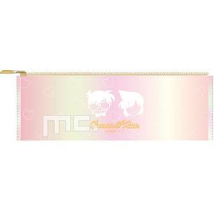 筆箱 オーロラ サンカク ペンケース 名探偵コナン コナン & 蘭 マリモクラフト ルミエシリーズの商品画像 ナビ