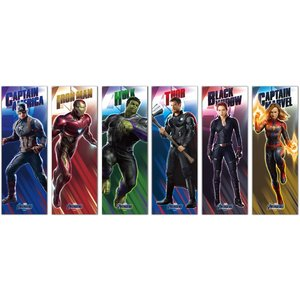 アベンジャーズ/エンドゲーム キャラポスコレクション 6個入りBOX[エンスカイ]《発売済・在庫品》|amiami|02