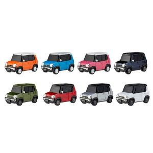 miniQ スズキ デフォルメ軽自動車コレクション 「ハスラー編」 8個入りBOX[海洋堂]《発売済・在庫品》