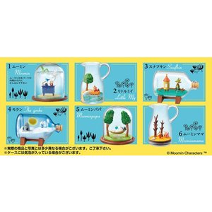 MOOMIN Terrarium ムーミン谷のストーリー 6個入りBOX[リーメント]《発売済・在庫品》|amiami