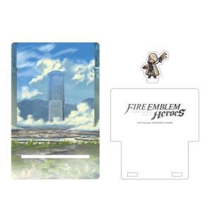 ファイアーエムブレム ヒーローズ アクリルスマートフォンスタンドセット 01.アスク王国[empty]《発売済・在庫品》|amiami